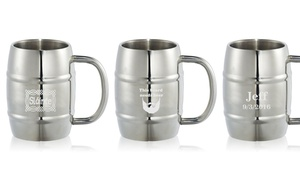 Up to 42% Off Personalized Barrel Mugs from Lazer Designs at Lazer Designs, plus 9.0% Cash Back from Ebates.