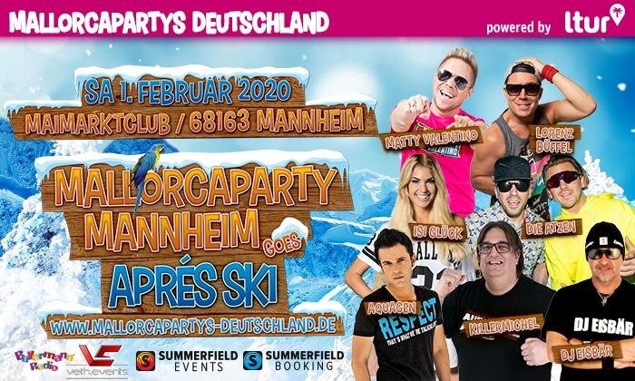 Mallorcaparty Goes Apres Ski Mallorcaparty Mannheim Goes Apres