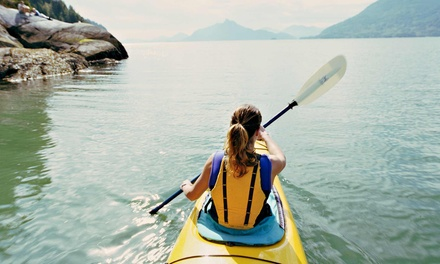 Two- or Four-Hour Guided Kayak Tour for One or Two from A Paddle in the Park Kayaking (50% Off)