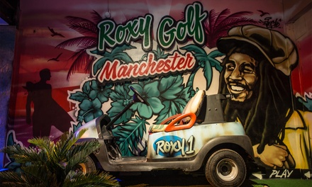 18Hole Mini Golf and Cocktails for Two or Four Roxy Golf Manchester