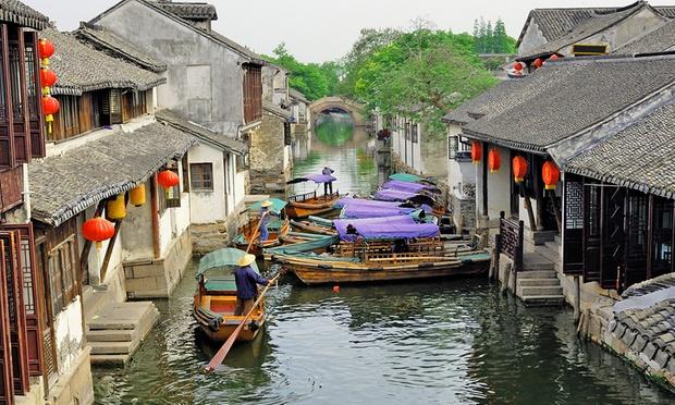 Shanghai–Jiangnan: Tour & Flights 2