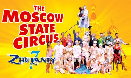 Moscow State Circus on 19 - 30 October, Clapham Common South Side, London (Up to 53% Off)