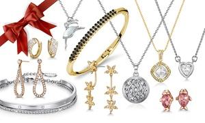 Set de bijoux ornés de cristaux swarovski®
