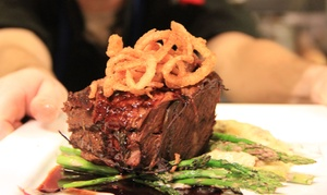 redwhite+bluezz: Gourmet American Cuisine at redwhite+bluezz (Up to 50% Off)