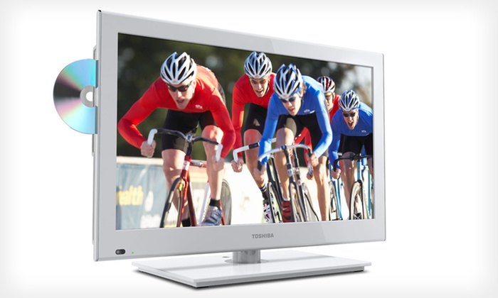 Toshiba 1080p LED HDTV/DVD Combo : Toshiba 24-Inch 1080p LED HDTV/DVD-Player Combo ($369.99 List Price). Free Shipping.