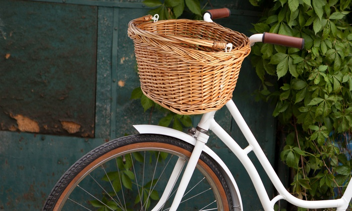 fahrradkorb in natur design groupon goods. Black Bedroom Furniture Sets. Home Design Ideas