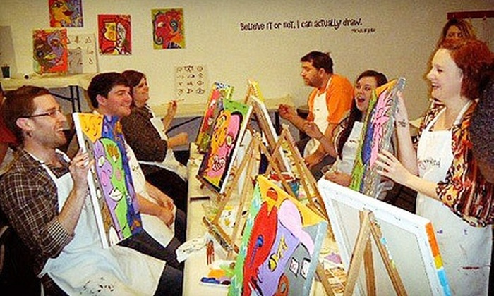 Easely Amused - Zilker: $30 for a BYOB Painting Class for Two at Easely Amused (Up to $60 Value)