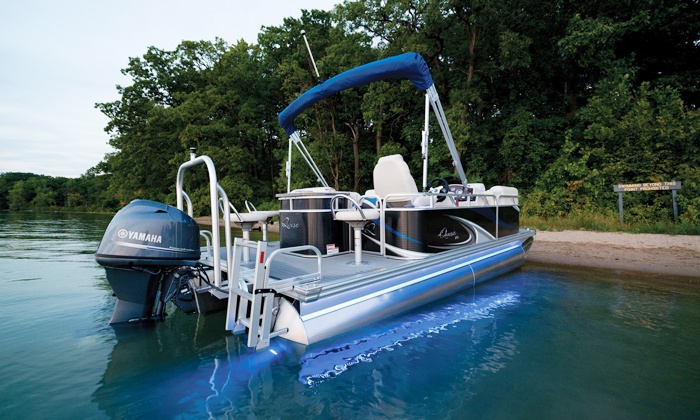 Corporate Tailgate - Chicago: Pontoon, Jet Ski, or Speedboat Rental from Corporate Tailgate (Up to 63% Off)
