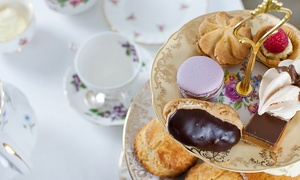The Tea Set: Afternoon Tea for Two or Four with Optional Prosecco at The Tea Set, Two Locations (Up to 50% Off)