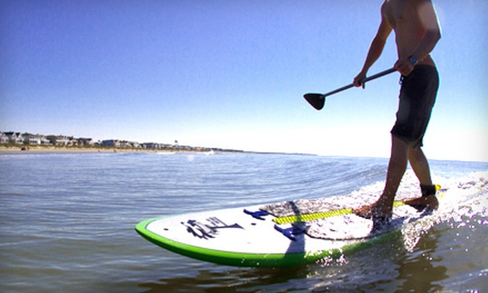Air & Earth - Mount Pleasant: Paddleboard Tours, Lessons, and Rentals from Air & Earth (Up to 57% Off). Five Options Available.