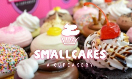 Cupcakes and Ice Cream at Smallcakes Idaho (Up to 40% Off). Two Options Available.