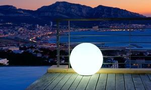 Sphères et cubes LED Lumisky