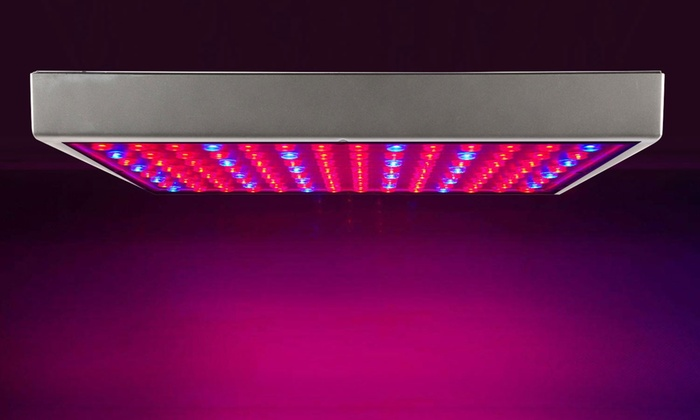 full spectrum 225 led plant grow light set groupon. Black Bedroom Furniture Sets. Home Design Ideas