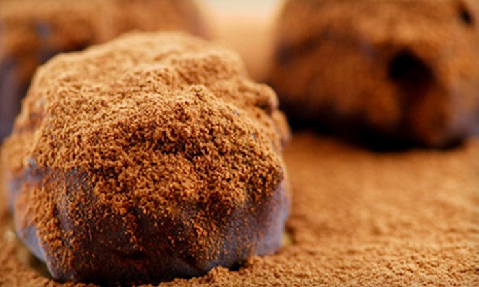 2 Chicks with Chocolate - Multiple Locations: Cocoa 101 Class for One, Two, or Four with Tastings at 2 Chicks with Chocolate (Up to 75% Off)