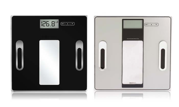 Vivitar Digital Total Body Fat And Fitness Scale ...
