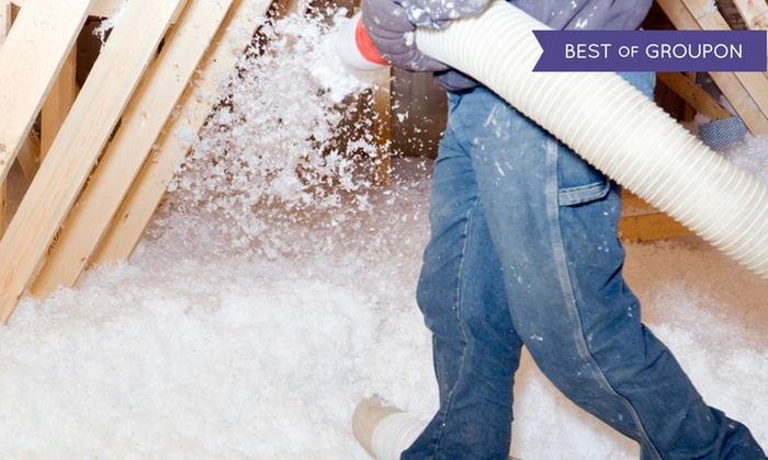 Bryant's Home Improvements - Indianapolis: 500 or 1,500 Square Feet of Blown-In Fiberglass Insulation from Bryant's Home Improvements (88% Off)