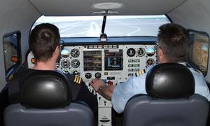Flightdeck-LE: 1x 30 Min. Schnupperflug im Flugsimulator Piper PA-34 Seneca inkl. Einweisung