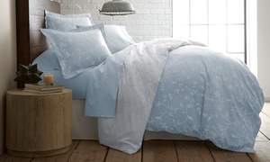 Premium Collection Cotton Reversible Sateen Duvet Cover Set