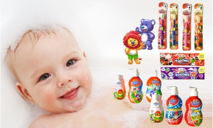 From $12.90 for Kodomo Kids Toothpaste and Toothbrush OR Bath Set (worth up to $25.80)