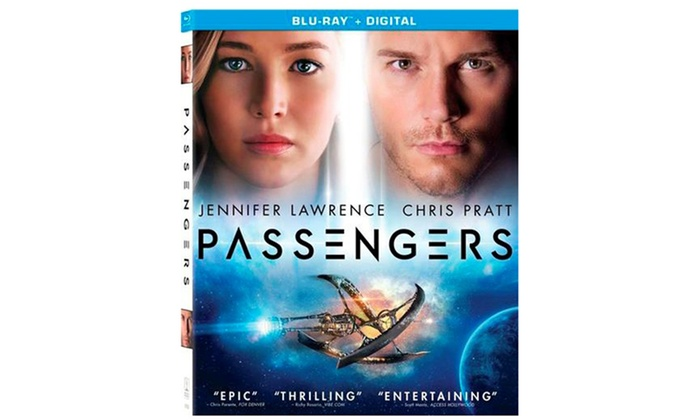 Passengers on Blu-ray and UltraViolet: Passengers on Blu-ray and UltraViolet