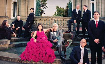 Pink Martini at the Bijou Theatre on Wed., March 28 at 8PM: Main Floor or Balcony Seating - Pink Martini in Knoxville