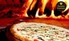 Cara de Mau Pizzaria - Gramado: A Famosa Pizza dos Piratas: Pizza Média ou Grande, na Cara de Mau - Gramado
