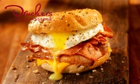 Hot Breakfast Muffin with Hot Drink for Two at Druckers Vienna Patisserie (Up to 30% Off)