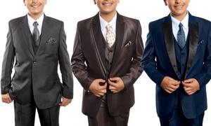 5-Piece Boy's Suit Classic Fit Set