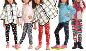 Angelina Kids' Printed Leggings