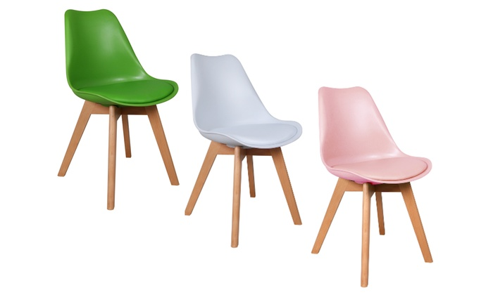 Chaises scandinaves viktor groupon shopping for Chaises de couleur design