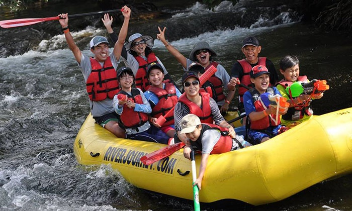 River Journey Adventures - Knights Ferry: Self-Guided Rafting for Up to Six or Tandem Kayak Trip for Two from River Journey Adventures (Up to 51% Off)