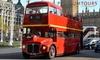 Open-Top London Bus Tour: Child (£13.50), Adult (£16.50)