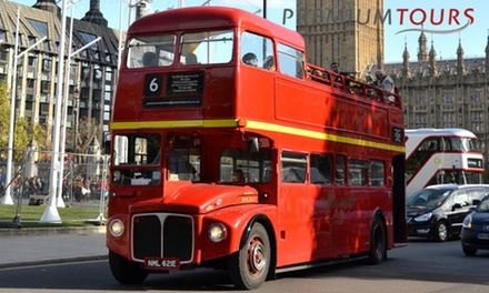 London Double-Decker Tour: Tower, Tower Bridge, Big Ben for Child, Adult or Family with Premium Tours (Up to 64% Off) (London)