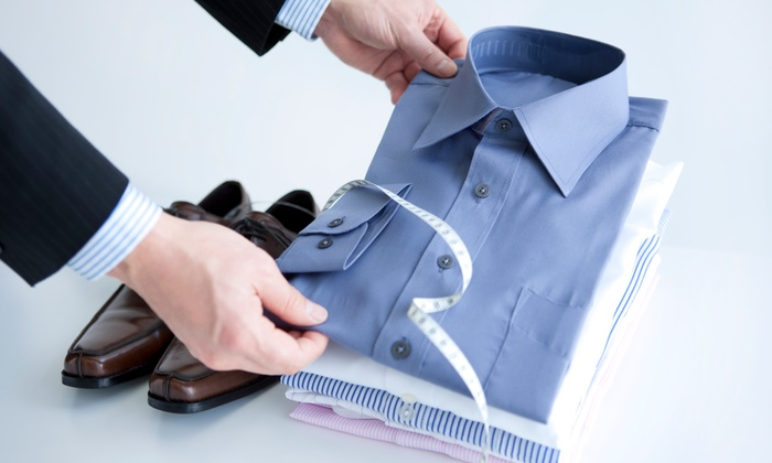 Fayetteville Alterations & Monogramming - South Rolling Hills: Custom-Tailored Shirt with Monogramming from Fayetteville Alterations & Monogramming (55% Off)