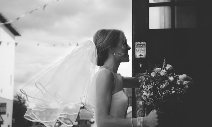 Embrace Imagery - Multiple Locations: Five-Hour Wedding Photography Package with Four Prints and USB from Embrace Imagery