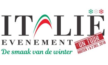 """Tickets voor """"Italië Evenement De Smaak van de Winter"""" op 1 en 2 december 2018 bij Vireo Auto in Houten"""