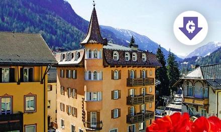 Dolomiti: camera Classiccon colazione o mezza pensione e Spa a 109€euro