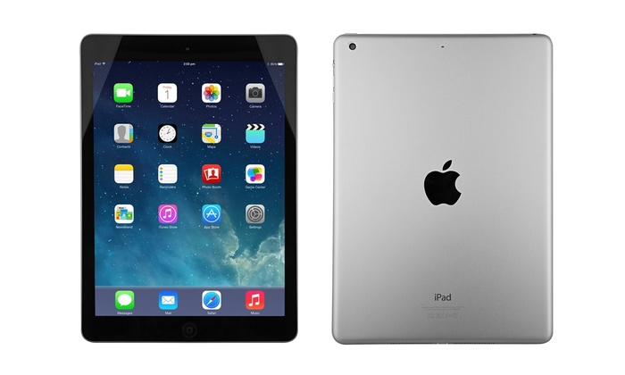 Up To 49% Off on Apple iPad Air WiFi Tablet | Groupon Goods