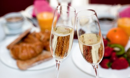 Champagne Breakfast for Two, Four or Six at The Hilton Northampton Hotel (58% Off)