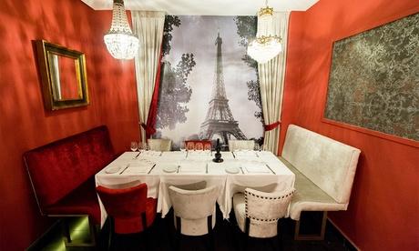 Menú francés para 2 personas por 49,95 € o Menú degustación francés para 2 de 6 pasos por 59,95 € Oferta en Groupon