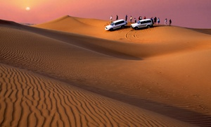 Manchester Tours: Desert Safari for Up to Five People with Manchester Tours (Up to 58% Off)