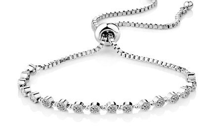 One or Two Philip Jones Crystal Friendship Bracelets
