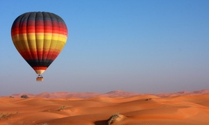 Dubai Budget Balloons: Hot Air Balloon Ride for Up to Four Adults with Dubai Budget Balloons