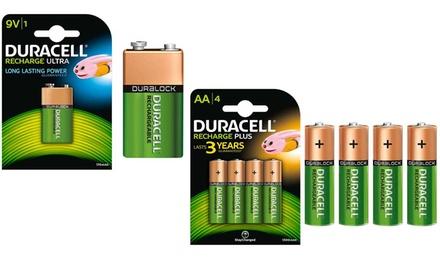 Set Duracell oplaadbare batterijen
