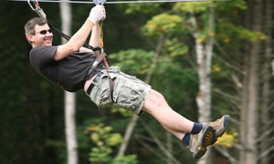 Nashville Shores: Zipline-and-Ropes-Course Experience with Gloves for Two or Four at Nashville Shores (Up to 37% Off)