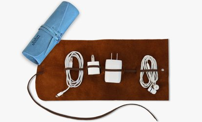 image for Monogrammed Genuine Leather Multi-Cord <strong>Organizer</strong> from Monogram Online (Up to 83% Off)