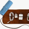 Up to 83% Off Monogrammed Genuine Leather Multi-Cord Organizer
