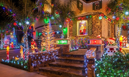 From $19 for Solar-Powered Christmas String LED Lights (Don't Pay up to $79)