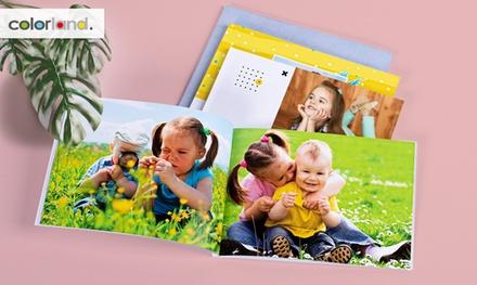 1, 2 o 3 fotolibros personalizables formato A5 en tapa blanda con Colorland (ES) (hasta 90% de descuento)
