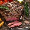 Côte de bœuf d'1,5 kg avec frites et salade pour 2